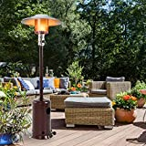 FDW Outdoor Patio Heater Tall Standing Hammered