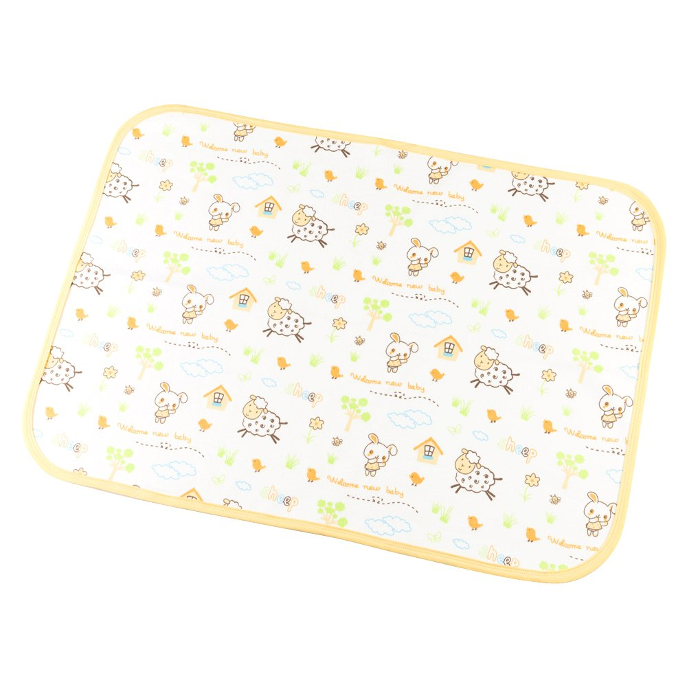 Babyfriend Leak-Proof Breathable Waterproof Underpads Mattress Play Pad Sheet Protector for Babies Gonghao Textile Co. Ltd GND1-001-S