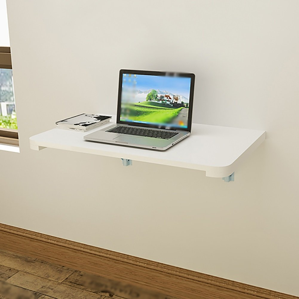 壁掛け式折り畳み式コンピュータテーブルダイニングテーブルソリッドウッド壁掛けサイドテーブルホワイト (サイズ さいず : 120*50cm) B07DNLQVTP 120*50cm 120*50cm