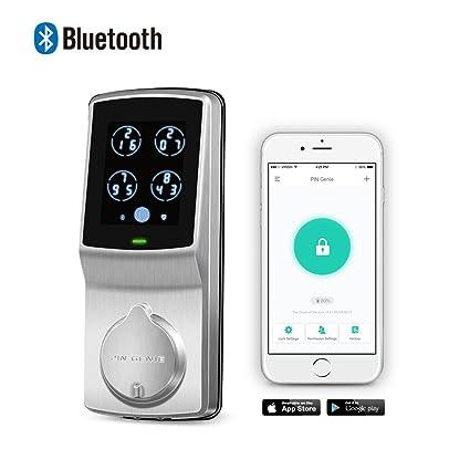 Keyless Entry Smart Lock PIN Genie Door Lock (PGD 728) with Discreet Peek  sc 1 st  Amazon.com & Keyless Entry Smart Lock PIN Genie Door Lock (PGD 728) with ...