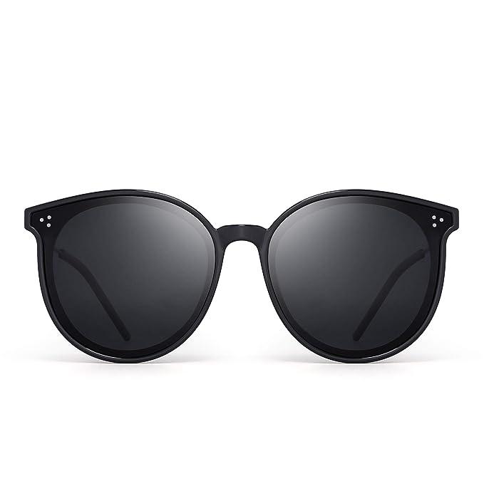 Amazon.com: Jim Halo - Gafas de sol polarizadas redondas ...
