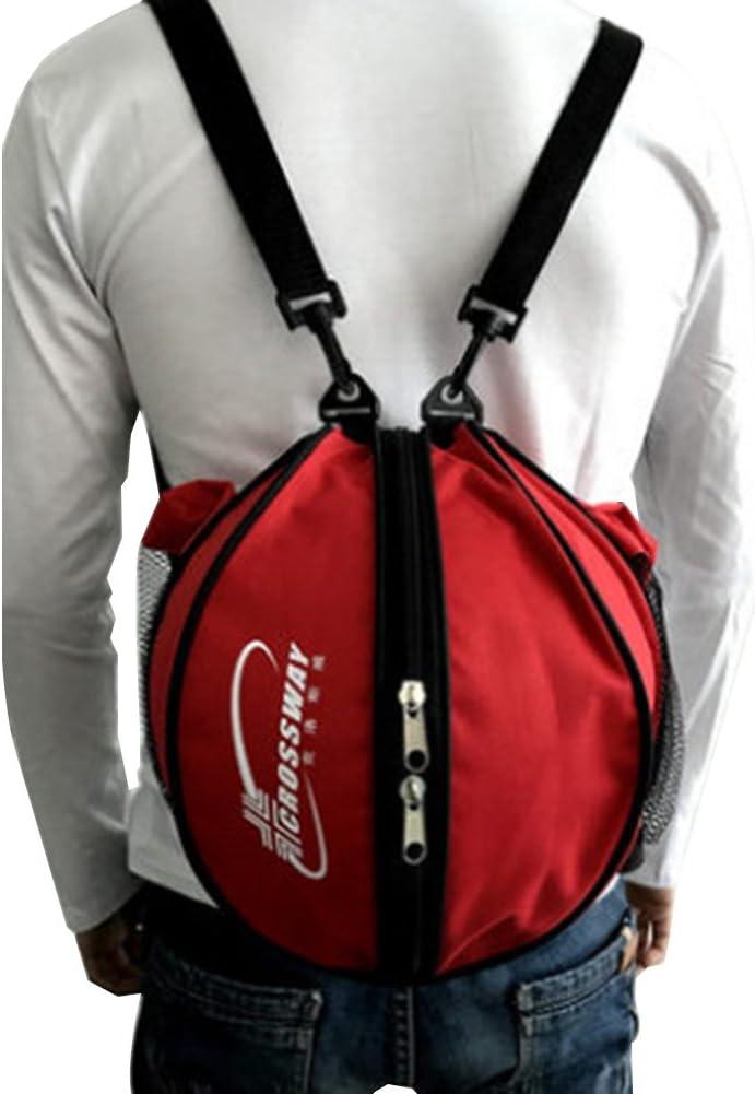 Alomejor Baloncesto Bolsa de f/útbol Bal/ón de f/útbol Voleibol Softbol Sports Carrier Holder con un Solo dise/ño de Correa para el Hombro