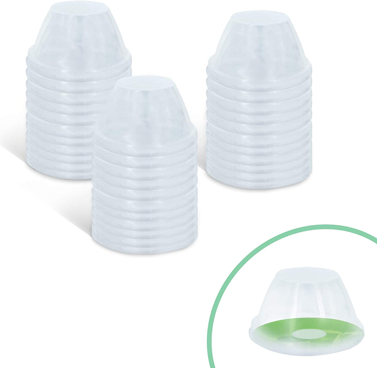 Grow Domes (50-Pack), Indoor Hydroponic Garden Accessories for use with AeroGarden