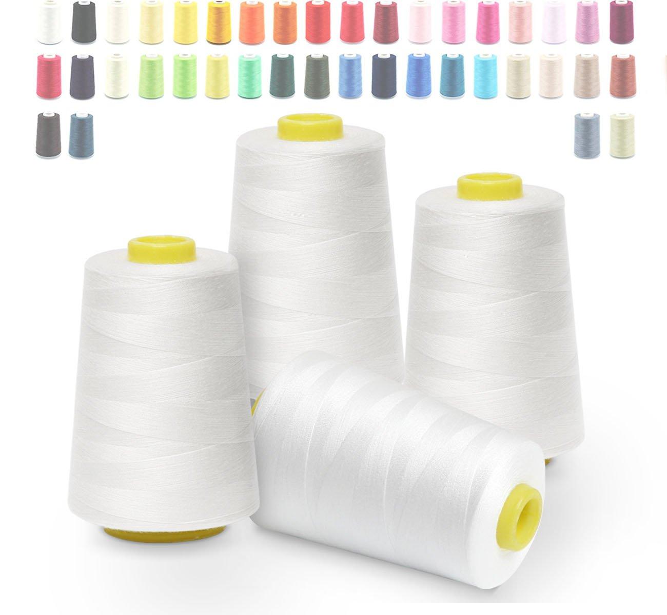 1000 Meter Nähgarn Polyester 40//2 in verschiedenen Farben