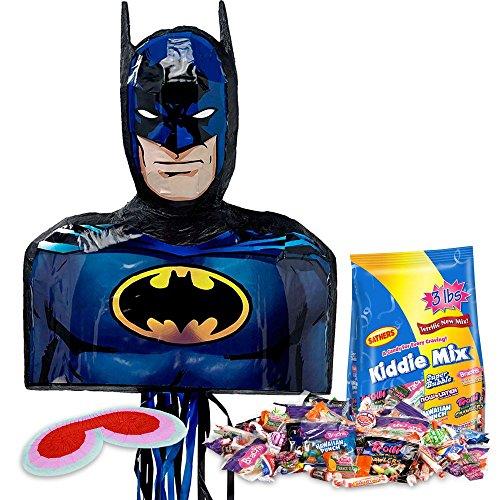 [Costume Supercenter BBPK147 Batman Shape Pinata Kit] (Pinata And Bat Costume)