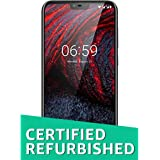 (Certified REFURBISHED) Nokia 6.1 Plus TA-1083 DS (Black, 64GB)