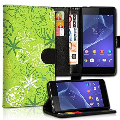 Wallet Book Style Flip Handy Tasche Case Schutz Hülle Schale Motiv Etui für Apple iPhone 6 / 6S - Design Flip MVD244