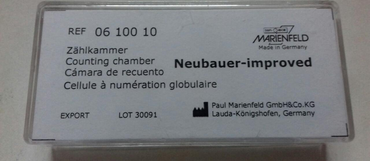 Cell Counting Chamber Improved Neubauer Hemacytometer Marinfield by Marinfield (Image #2)