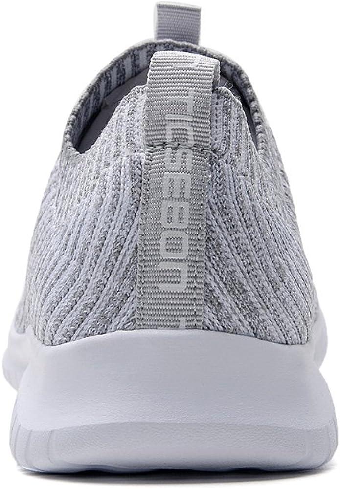   TIOSEBON Women's Slip On Walking Shoes Lightweight Casual Running Sneakers   Walking
