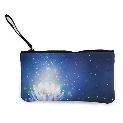 Amazon.com: Monedero de agua con flor de lirio brillante ...