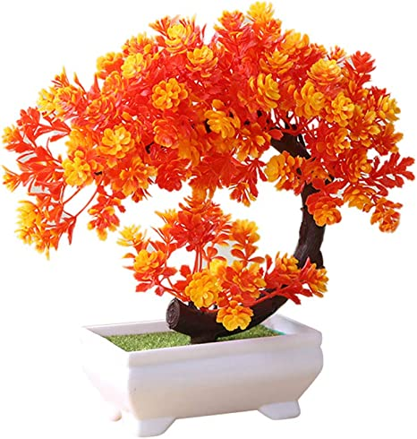 Artificial Potted Flowers Simulated Flowerpot Home Office Decoration Ornaments