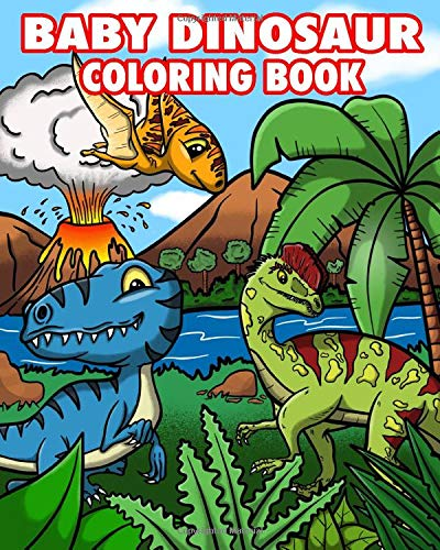 100+ Coloring Book Baby Dinosaur Free