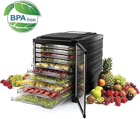 Opinión sobre L.TSA Deshidratador de Alimentos Deshidratador de Alimentos Digital, Máquina Digital para Verduras, Secador de Frutas Inteligente, Secador de Alimentos de Acero Inoxidable para Mascotas domé