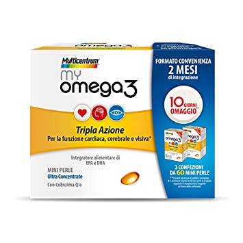 Amazon.com: Multicentrum My Omega3 Dietary Supplement 120 ...