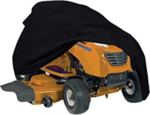 Szblnsm Waterproof Riding Lawn Mower Cover - Heavy Duty 420D Polyester Oxford Tractor Cover Fits Decks up to 54