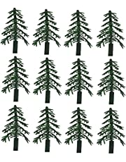 12 ct - Evergreen Trees for Cake and Cupcake Decorating [Toy]