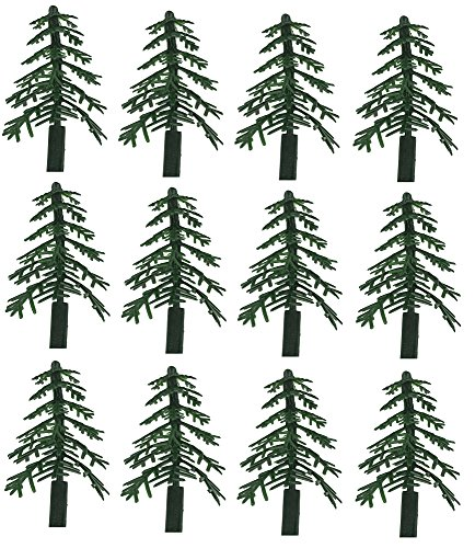 (Evergreen Trees for Cake and Cupcake Decorating (12-Pack) )