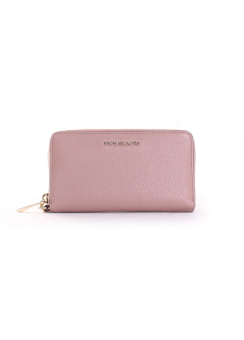 Michael Kors Pebbled Leather Smartphone Wristlet in Fawn