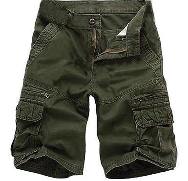 Bermudas Kuson Coton Shorts Casual Avec Cargo Outdoor Hommes Lâche TlJ3uK1Fc