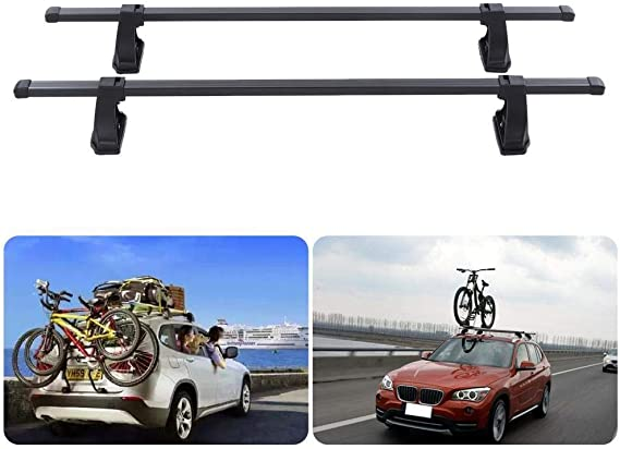 SNOWINSPRING Universal Car Soft Roof Rack Luggage Carrier Surfboard Carrier