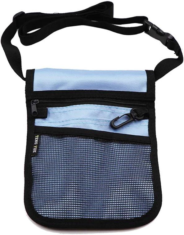 WANGXN Pro Pack Pocket Pouch for Nurses Multi Compartimento Bolsa Nurse Organizer Utility Nurse Fanny Pack Pocket Organizer: Amazon.es: Deportes y aire libre