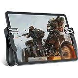 Mobile Game Controller for iPad/Tablets, EMISH Six Finger Game Joystick Handle Trigger Aim Button L1R1 L2R2 Shooter Gamepad f