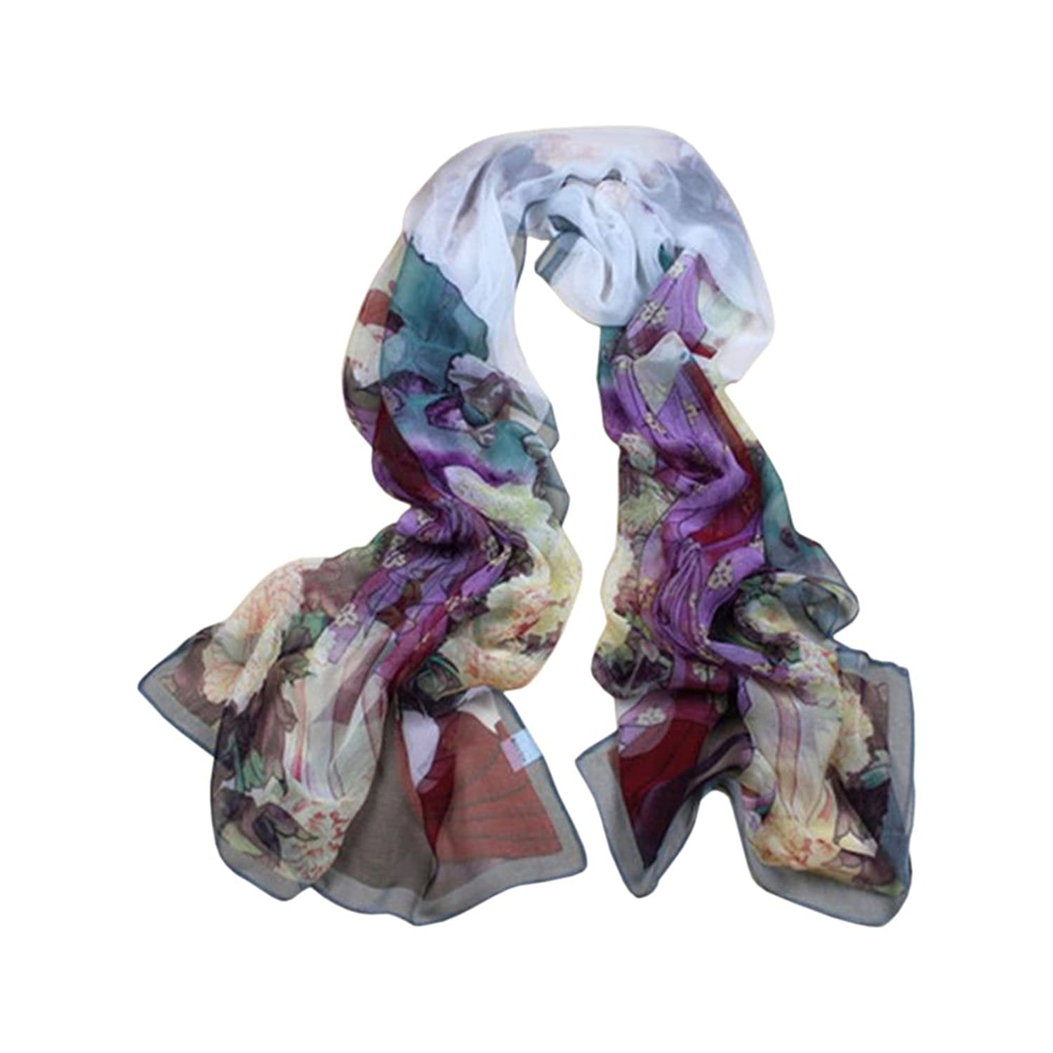 Fashion Girls Wrap Lady Shawl Soft Chiffon Scarf Scarves Stole