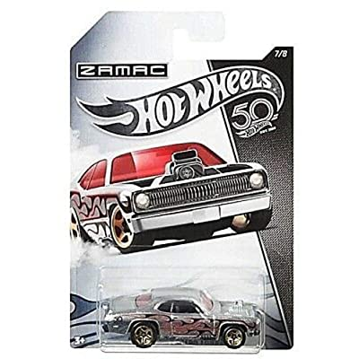 HOT WHEELS ZAMAC PLYMOUTH DUSTER THRUSTER 7/8 50TH ANNIVERSARY: Toys & Games
