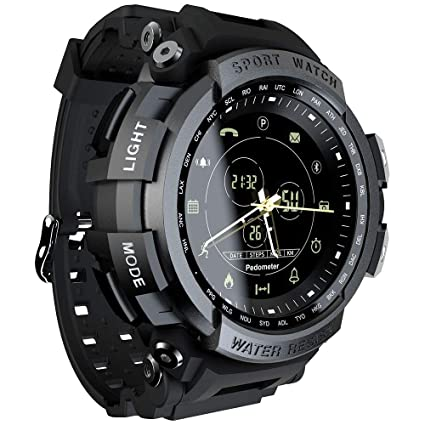 Amazon.com: LOKMAT - Reloj inteligente deportivo analógico ...