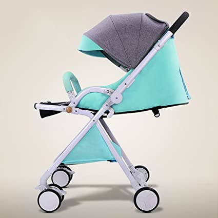 QQB &Carro Plegable Carrito de bebé Trolley Puede Sentarse y mentir Puede Estar en el avión