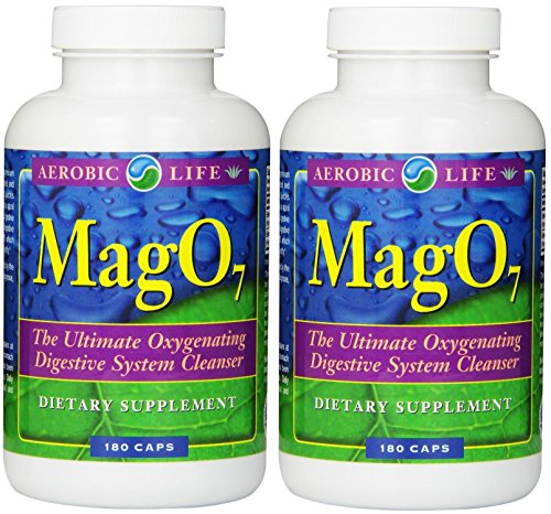 Aerobic Life Mag 07 Oxygen Digestive System Cleanser Capsules, 180 Count (180x2)