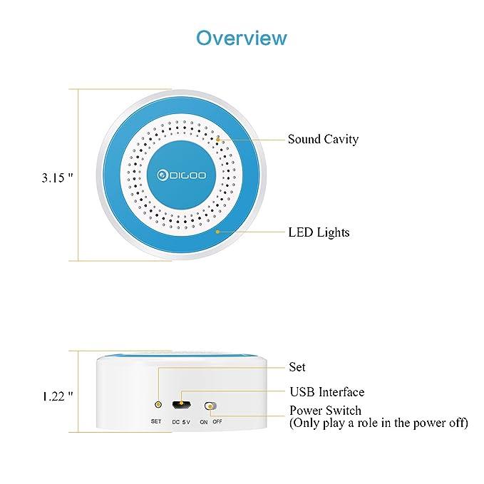 Digoo dg rosa 433 mhz sirne dalarme autonome sans fil systme digoo dg rosa 433 mhz sirne dalarme autonome sans fil systme multifonction dalarme de scurit domicile peuvent tre utiliss en combinaison avec fandeluxe Gallery