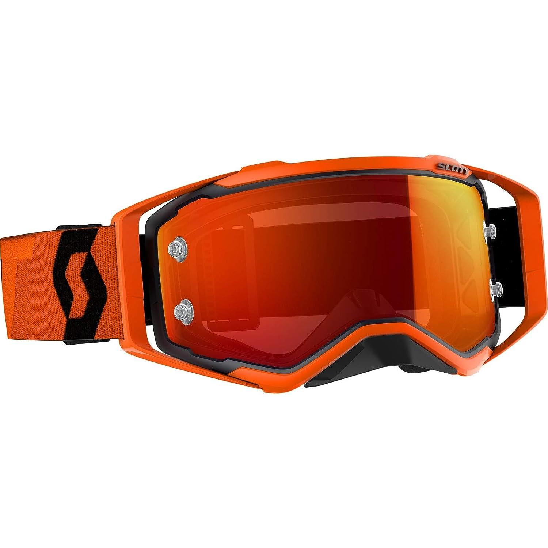 Scott Prospect MX Goggle chrome Cross/MTB Brille Orange/Orange chrome Goggle works 437580