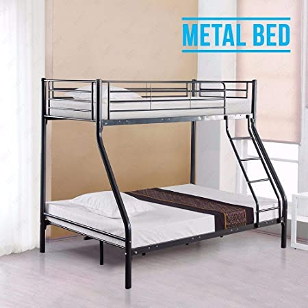 Xerck 3FT Single 4FT6 Double Triple Sleeper Bunk Bed Frame for Adult  Children Kids  Amazon.co.uk  Kitchen   Home 0d7ac468a