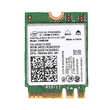 Chenggong Chg para Wireless-AC 3160NGW Dual Band 2.4/5.8Ghz ...