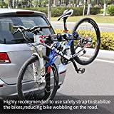 Leader Accessories Hitch Mounted 2 Bike Rack