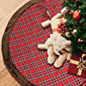 Gifort 48 inch Super Large Size Christmas Tree Gift Floor Mat