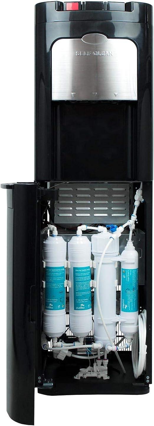 Dispensador de Agua con filtración por ósmosis inversa. Color ...
