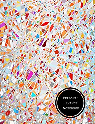 personal finance notebook budget log journals for all