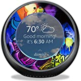 MightySkins Skin for Amazon Echo Spot - Midnight Mischief | Protective, Durable, and Unique Vinyl Decal wrap Cover | Easy to Apply, Remove, and Change Styles | Made in The USA