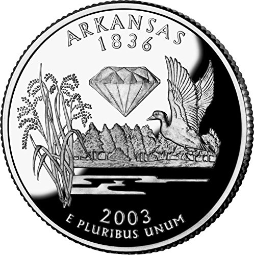 2003 P Bankroll of Arkansas Statehood Uncirculated