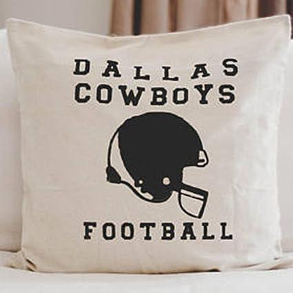 Amazon FaceYee Football Throw Pillow Covers Seasonal Pillow Magnificent Dallas Cowboys Decorative Pillow