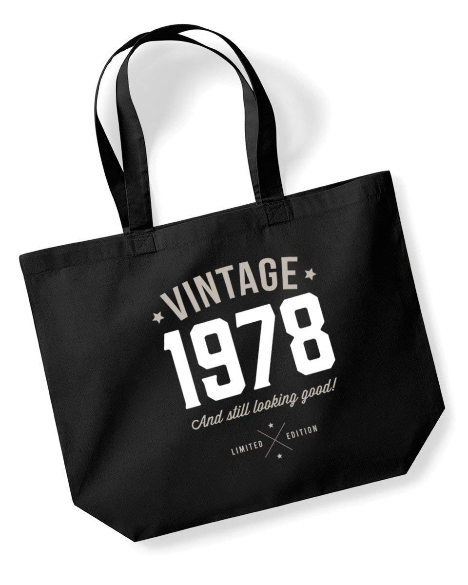 40th Birthday 1978 Keepsake Funny Gift Gifts For Women Novelty Ladies Female Looking Good Shopping Bag
