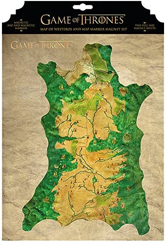 Dark Horse Deluxe Game of Thrones: Map of Westeros and Map Marker Magnet on spooksville map, downton abbey map, narnia map, bloodline map, got map, justified map, jericho map, qarth map, camelot map, walking dead map, a storm of swords map, gendry map, world map, star trek map, guild wars 2 map, clash of kings map, dallas map, valyria map, winterfell map, jersey shore map,