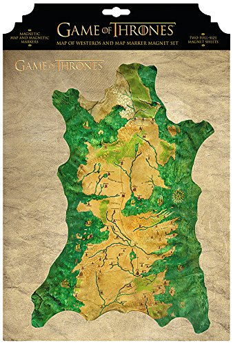 Buy game of thrones map marker magnet set online at low prices in game of thrones map marker magnet set gumiabroncs Gallery