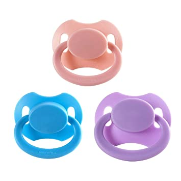 Adult sized pacifier Baby Pink