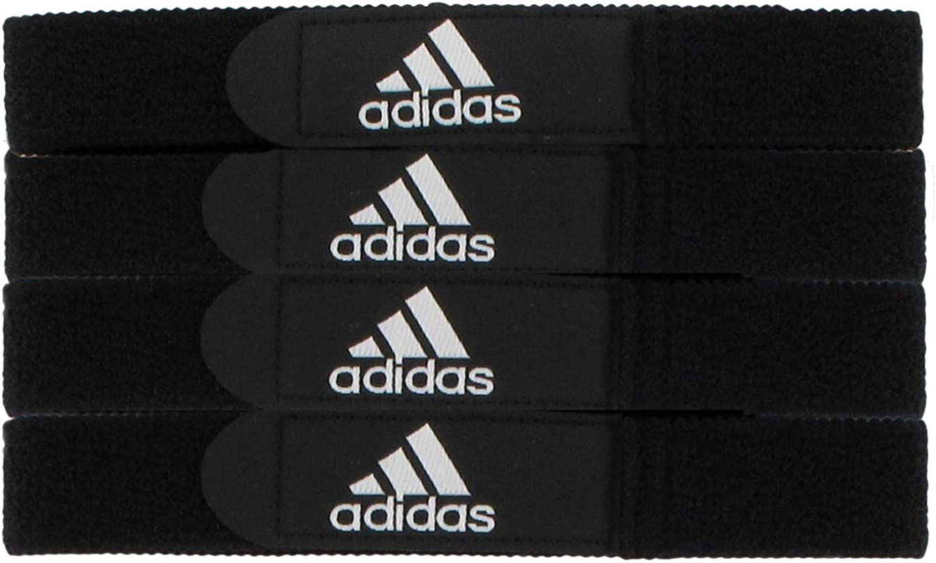 adidas Unisex Soccer Shin Guard Strap, Black, ONE SIZE : Guard Stays : Clothing