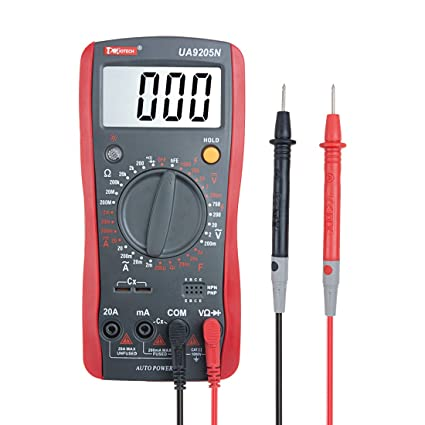 Uxcell Digital Multimeter Multi Tester Capacitance Resistance Dcac