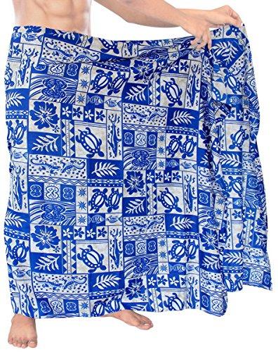 LA LEELA Soft Light Printed Cover Up Nightwear Mens 72