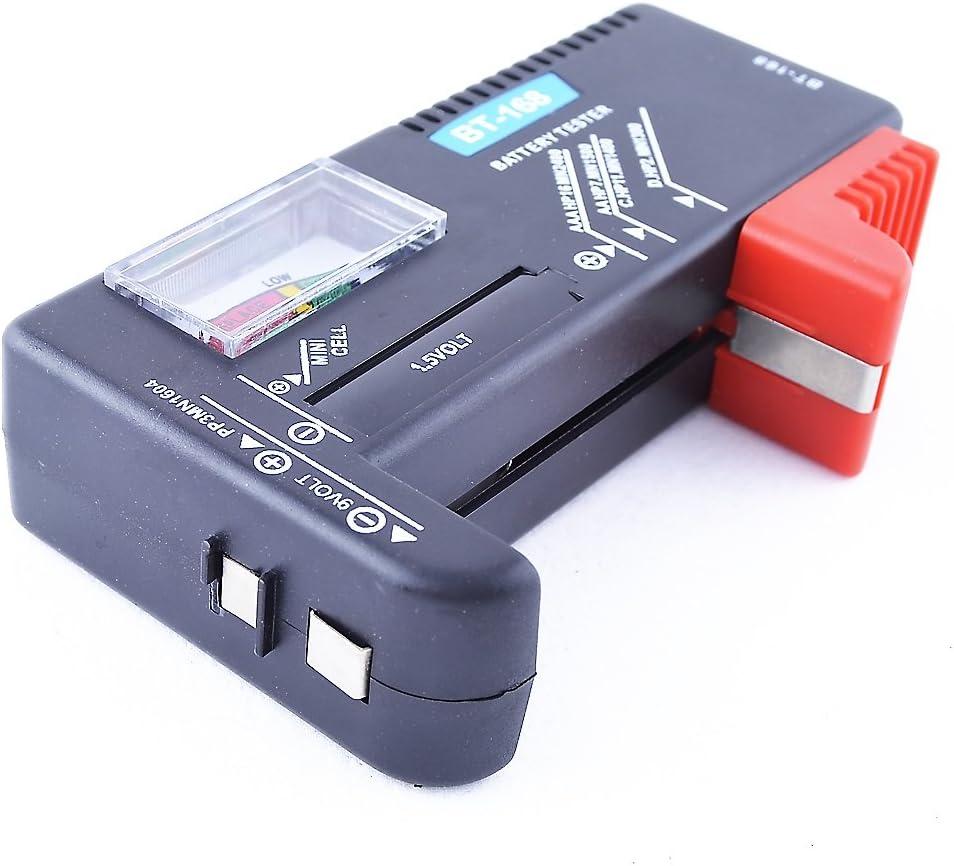 Comprobador TESTER Universal de Pilas y Baterías BT-168 DESDE ESPAÑA m24